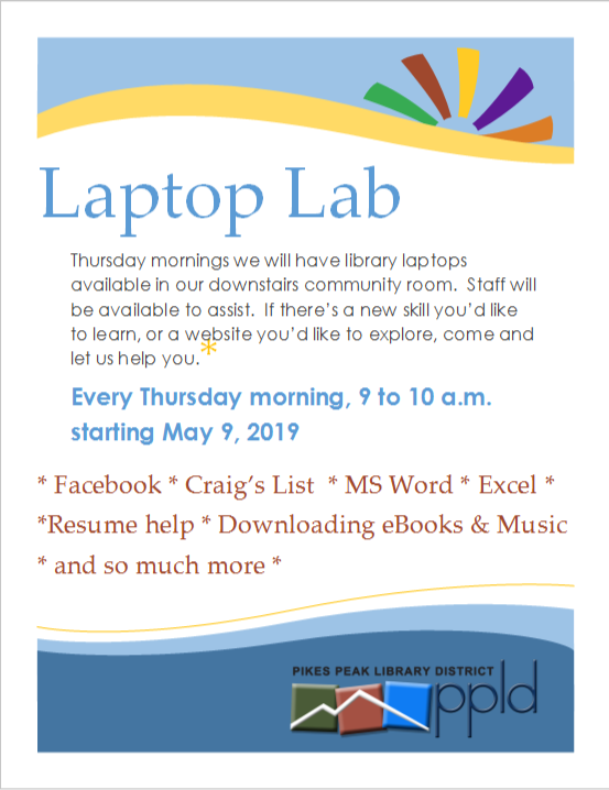 Laptop Lab flyer