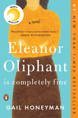 Image of book cover Eleanor Oliphant is Completely Fine by Gail Honeyman