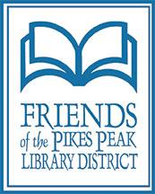 Logo for the Friends of the Pikes Peak Library District