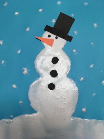 image of snowman