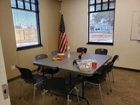 Calhan Library meeting room