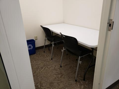 Calhan Library study room