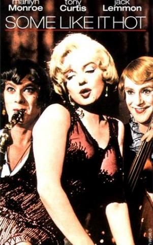 Movie cover from Some Like it Hot